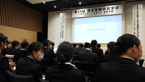 2年生 埼玉看護研究学会に参加してきました。